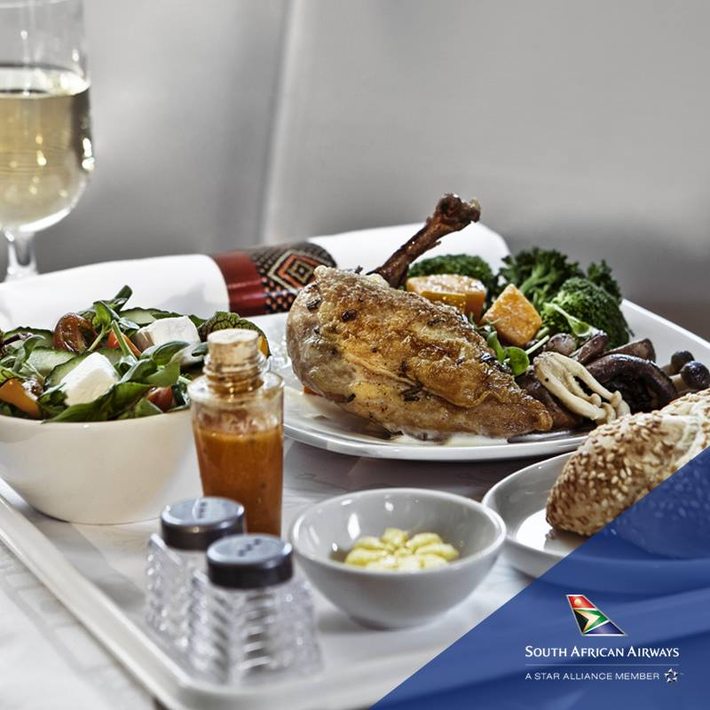 Africa Business Class: South African Airways Bookings